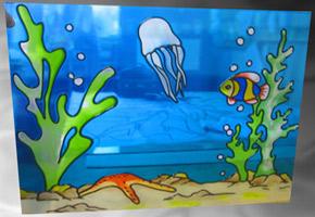 морское дно рисунки картинки